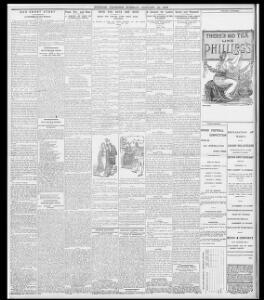 OUR SHORT STORY 1896-01-28 Evening Express - Papurau Newydd