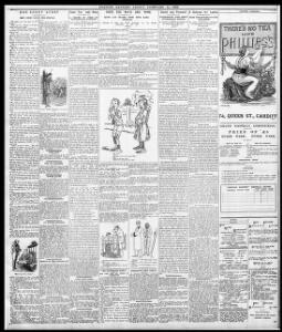 OUR SHORT STORY|1896-02-14|Evening Express - Papurau Newydd