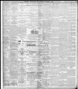 THE POST BAG  |1897-09-04|The South Wales Daily Post - Papurau