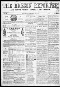 The Brecon Reporter and South Wales General Advertiser