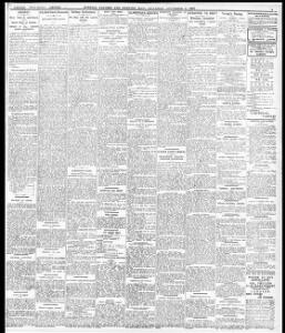CRICKET |1907-11-09|Evening Express - Papurau Newydd Cymru