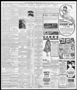 ro-day's Short Story I|1908-06-04|Evening Express - Papurau Newydd