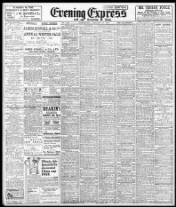 Advertising|1910-01-12|Evening Express - Papurau Newydd