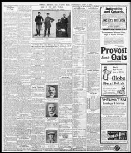 TO OAY & 8HORT STOHY ] -Unemployed |1910-04-06|Evening Express