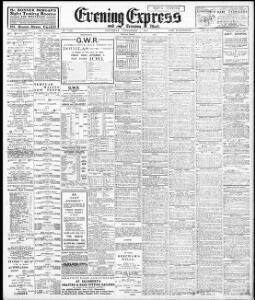Advertising 1910-09-03 Evening Express - Papurau Newydd Cymru Arlein