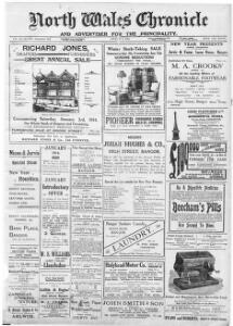 The North Wales Chronicle and Advertiser for the Principality