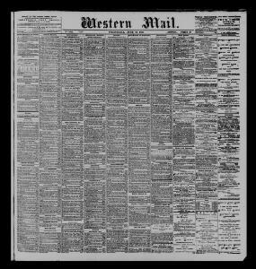 Advertising|1885-06-17|The Western Mail - Papurau Newydd