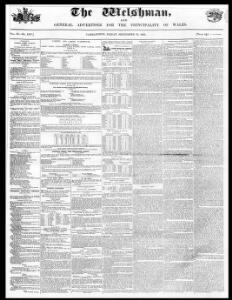 Advertising|1853-09-23|The Welshman - Papurau Newydd Cymru Arlein